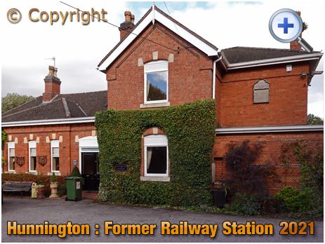 Hunnington : Former Railway Station [2021]