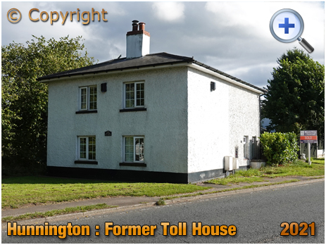 Hunnington : Former Toll House [2021]