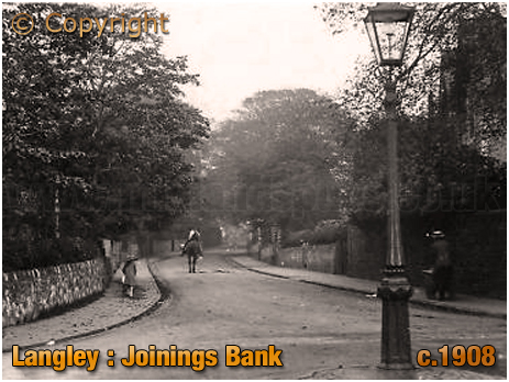 Langley : Joinings Bank [c.1908]