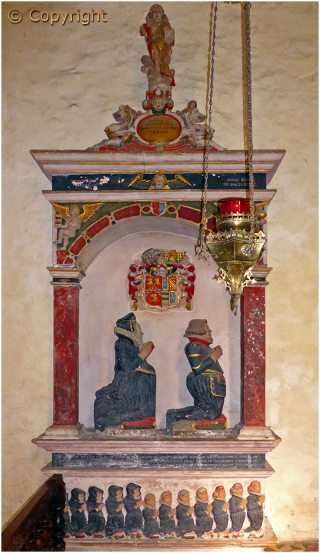 Leigh : Tomb of William and Mary Colles in the Church of Saint Edburga [September 2019]
