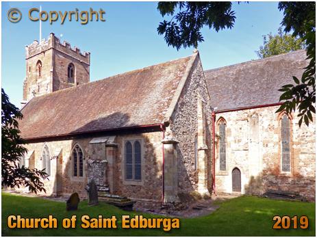 Leigh : South Aisle of the Church of Saint Edburga [September 2019]