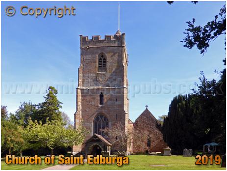 Leigh : Church of Saint Edburga [September 2019]
