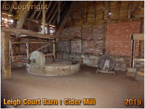 Leigh Court Barn : Cider Mill [September 2019]
