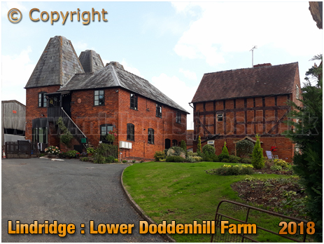 Lindridge : Former Oast Houses at Lower Doddenhill Farm [2018]