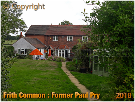 Lindridge : Former Paul Pry at Frith Common [2018]