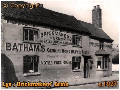 Lye : Brickmakers' Arms [c.1927]