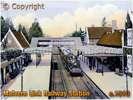Malvern Link : Railway Station [c.1910]