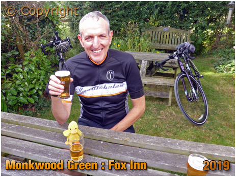 Monkwood Green : Beer Garden of the Fox Inn [September 2019]