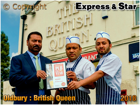 Oldbury : Winners Sukhdev Singh Sidhu, Tulak Regmi, and Laxuman Regmi from The British Queen [2018]