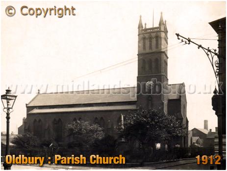 Oldbury : Parish Church [c.1912]
