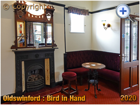 Oldswinford : Rear Room of the Bird in Hand [2020]