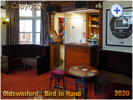 Oldswinford : Servery of the Bird in Hand [2020]