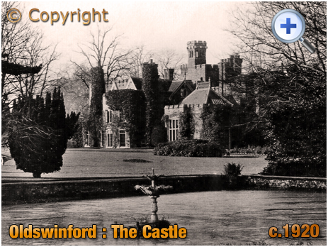 Oldswinford : The Castle and Pool [c.1920]