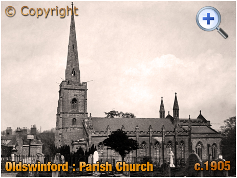 Oldswinford : Parish Church of Saint Mary [c.1905]