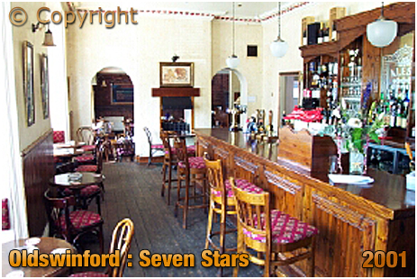 Oldswinford : Dining Room Servery of the Seven Stars [2001]