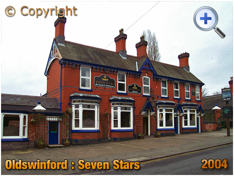 Oldswinford : Frontage of the Seven Stars [2004]