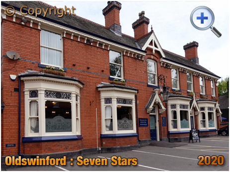 Oldswinford : Exterior of the Seven Stars [2020]