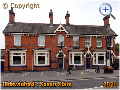 Oldswinford : Frontage of the Seven Stars [2020]