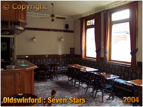 Oldswinford : Rear Lounge [Former Smoking Room] of the Seven Stars [2004]
