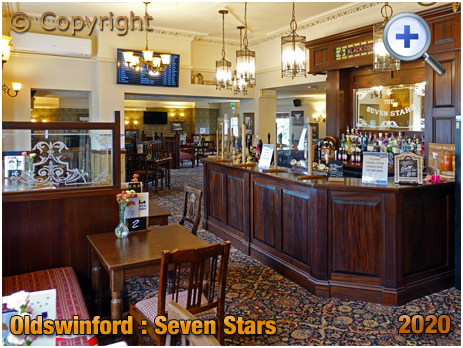 Oldswinford : Dining Room Servery of the Seven Stars [2020]