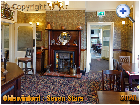Oldswinford : Fireplace of the Seven Stars [2020]