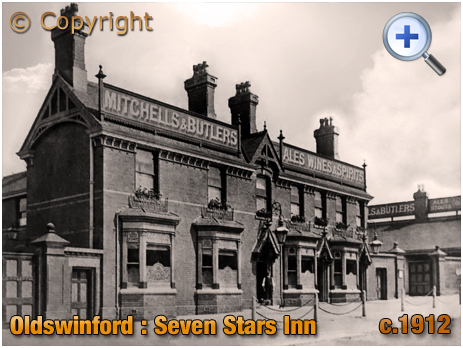 Oldswinford : The Seven Stars Hotel [c.1908]