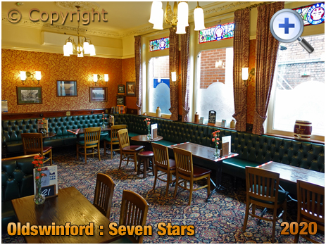 Oldswinford : Lounge [Former Smoking Room] of the Seven Stars [2020]