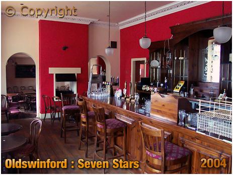 Oldswinford : Restaurant Servery of the Seven Stars [2004]