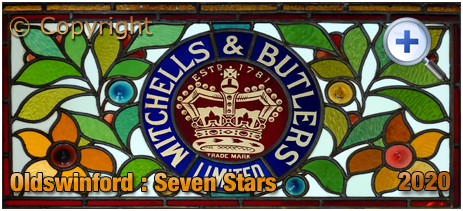 Oldswinford : Mitchell's and Butler's Stained Glass of the Seven Stars [2020]