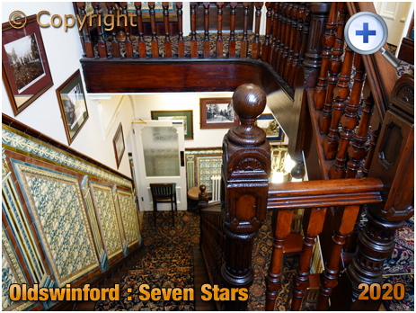 Oldswinford : Staircase at the Seven Stars [2020]