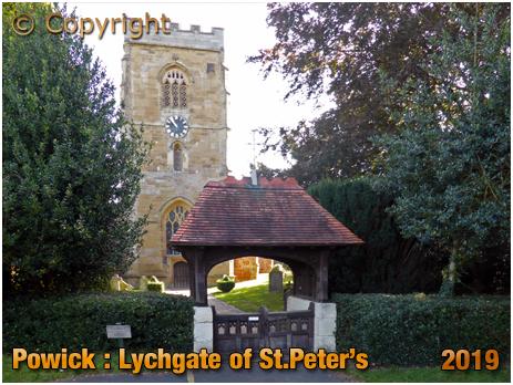 Powick : Lychgate to the Church of Saint Peter [September 2019]