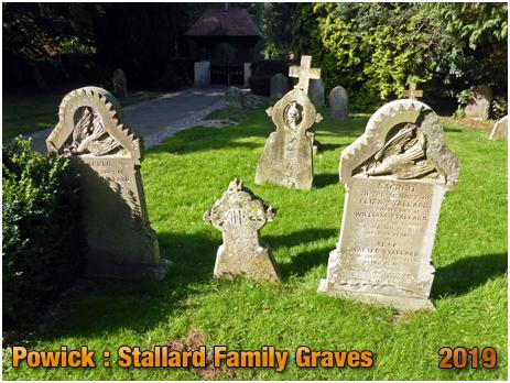 Powick : Stallard Family Graves at the Church of Saint Peter [September 2019]