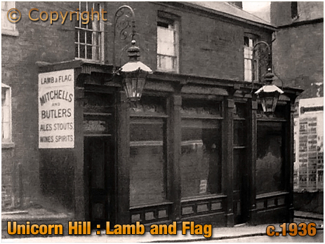 Redditch : Lamb and Flag on Unicorn Hill [c.1936]