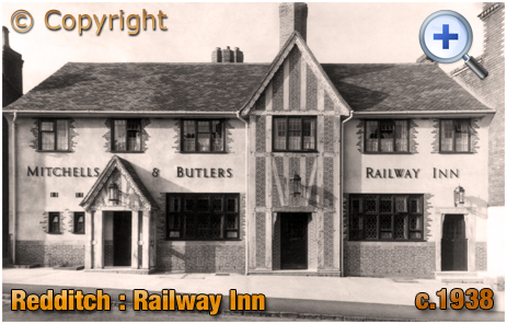 Wythall : Railway Inn on Hewell Road [c.1938]