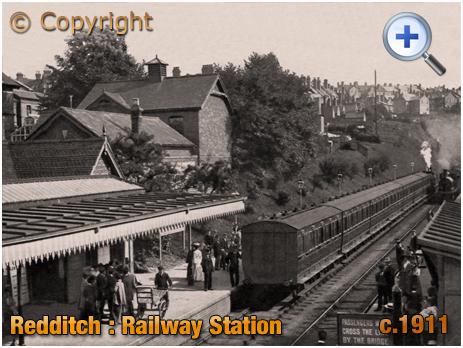 Redditch : Railway Station [c.1911]