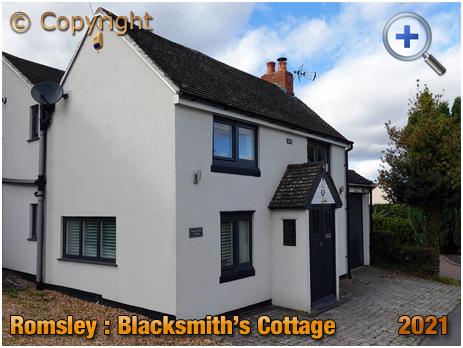 Romsley : Blacksmith's Cottage on Bromsgrove Road [2021]