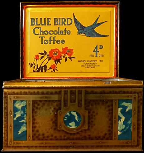 Romsley : Blue Bird Chocolate Toffee