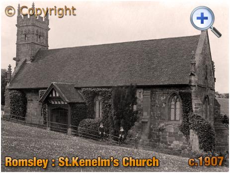 Romsley : Saint Kenelm's Church [c.1907]