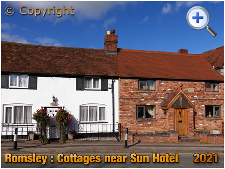 Romsley : Old Cottages next to Sun Hotel [2021]