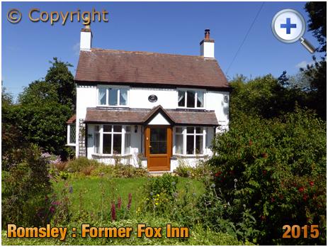 Romsley : Former Fox Inn [2015]