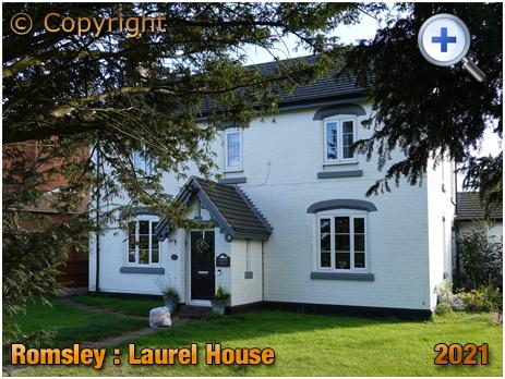 Romsley : Laurel House [2021]