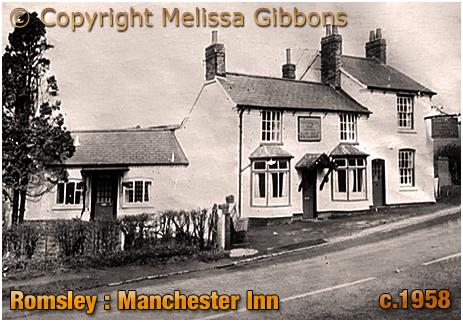 Romsley : Manchester Inn at Dayhouse Bank [c.1958]