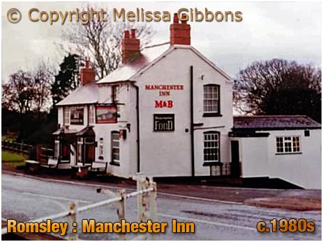 Romsley : Manchester Inn at Dayhouse Bank [c.1980s]