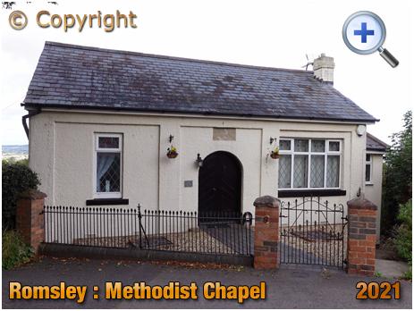 Romsley : Former Methodist Chapel on Dark Lane [2021]