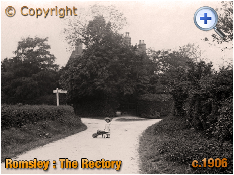 Romsley : The Old Rectory [c.1906]