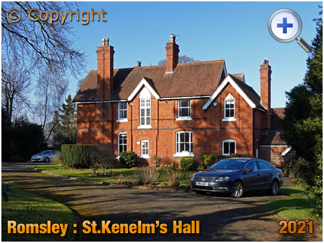 Romsley : Saint Kenelm's Hall [2021]