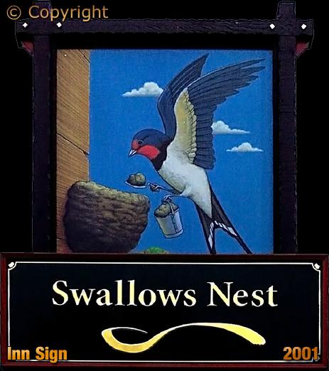 Romsley : Inn Sign of the Swallow's Nest [2001];