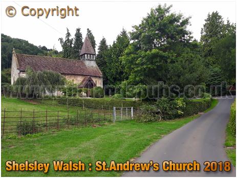 Shelsley Walsh : Church of Saint Andrew [2018]