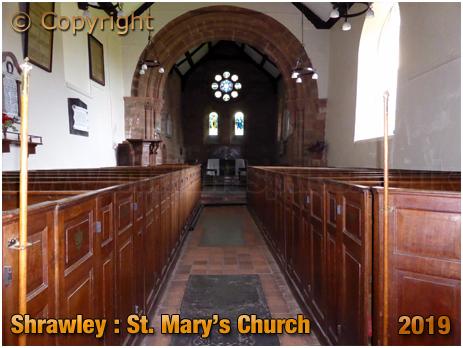 Shrawley : Interior of the Church of Saint Mary [September 2019]