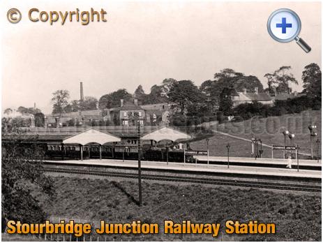 Oldswinford : Stourbridge Junction Railway Station [c.1910]